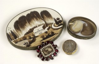 Mourning Brooches Featuring Palette Worked Hair From The Wellcome Collection Photo Via Wikimedia Commons