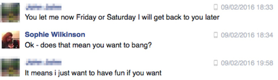 I Responded to Random Creeps on Facebook to Find a Date for