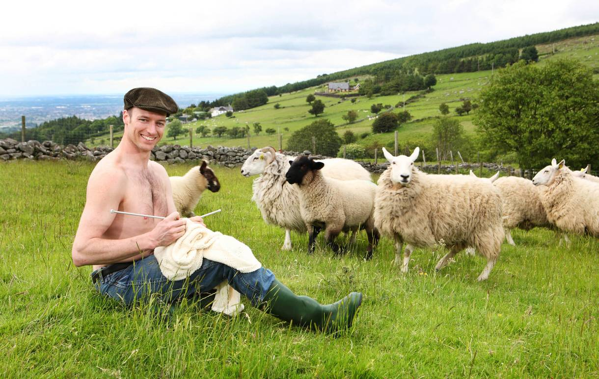 Look At These Photos Of Shirtless Irish Farmers Snuggling -1711