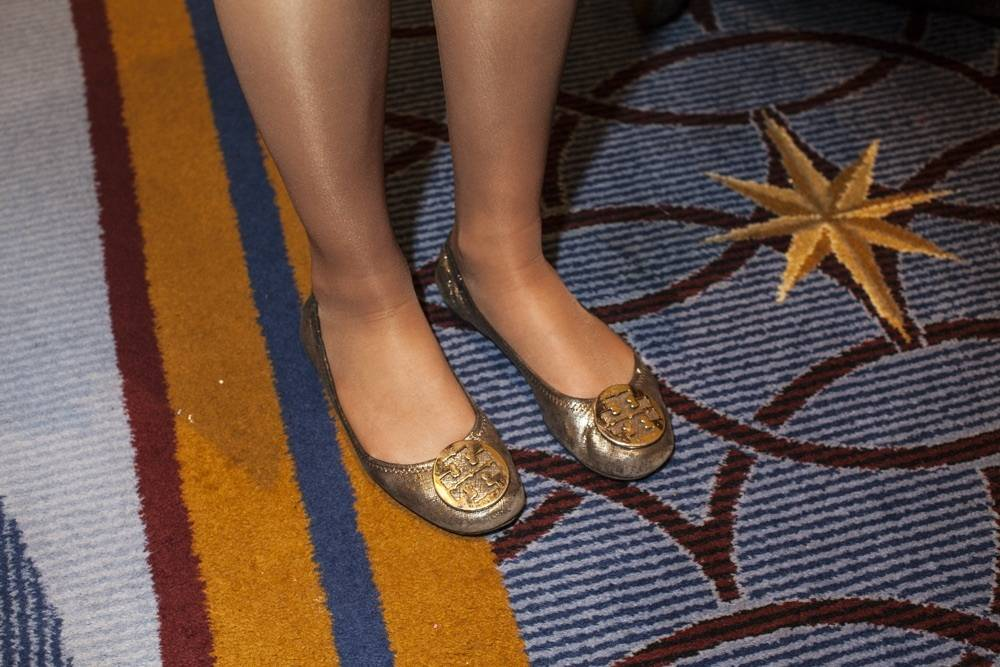 Image result for Tory Burch Flats For Girls