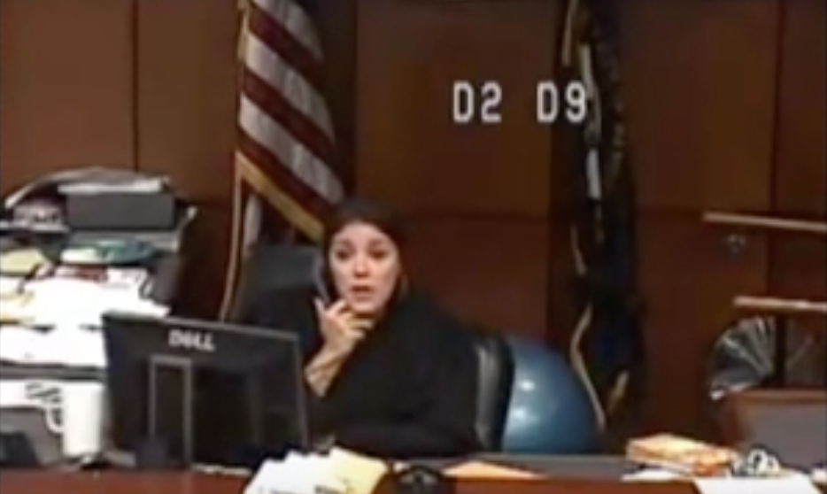 Judge outraged after jailers send woman to court with no pants