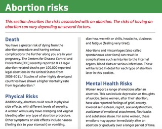 The New Lie Filled Booklet Texas Abortion Doctors Must Offer Their