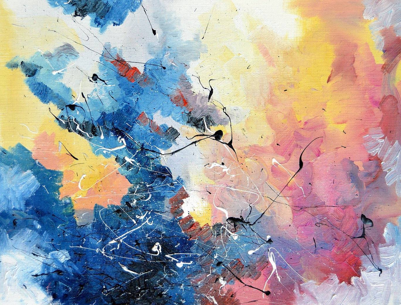 This Artist With Synesthesia Sees Colors In Music And Paints Your - Painting art