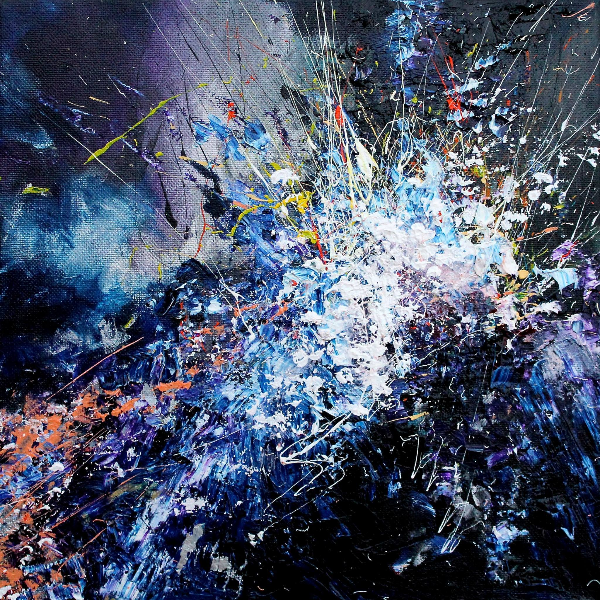 This artist with synesthesia sees colors in music and paints your prince joy in repetition hexwebz Images