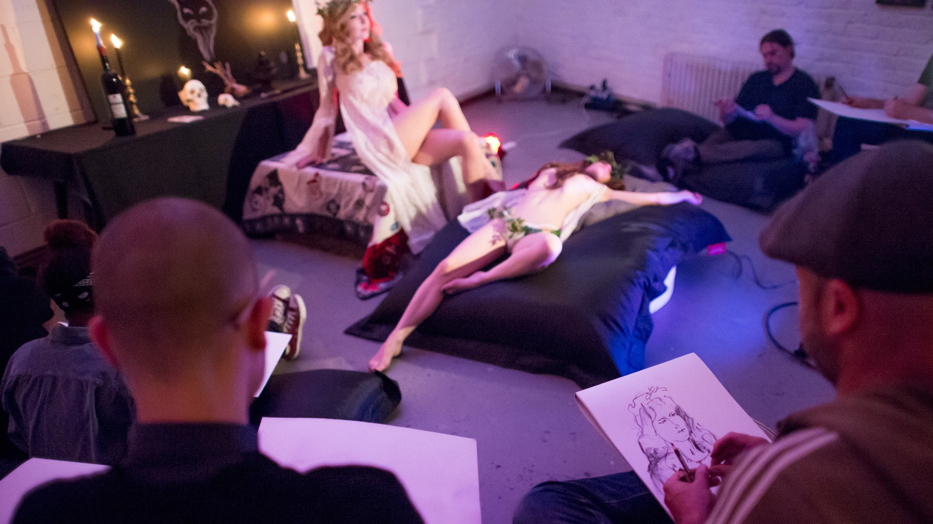 A Bewitching Night Out at London's Only Occult Life Drawing Class