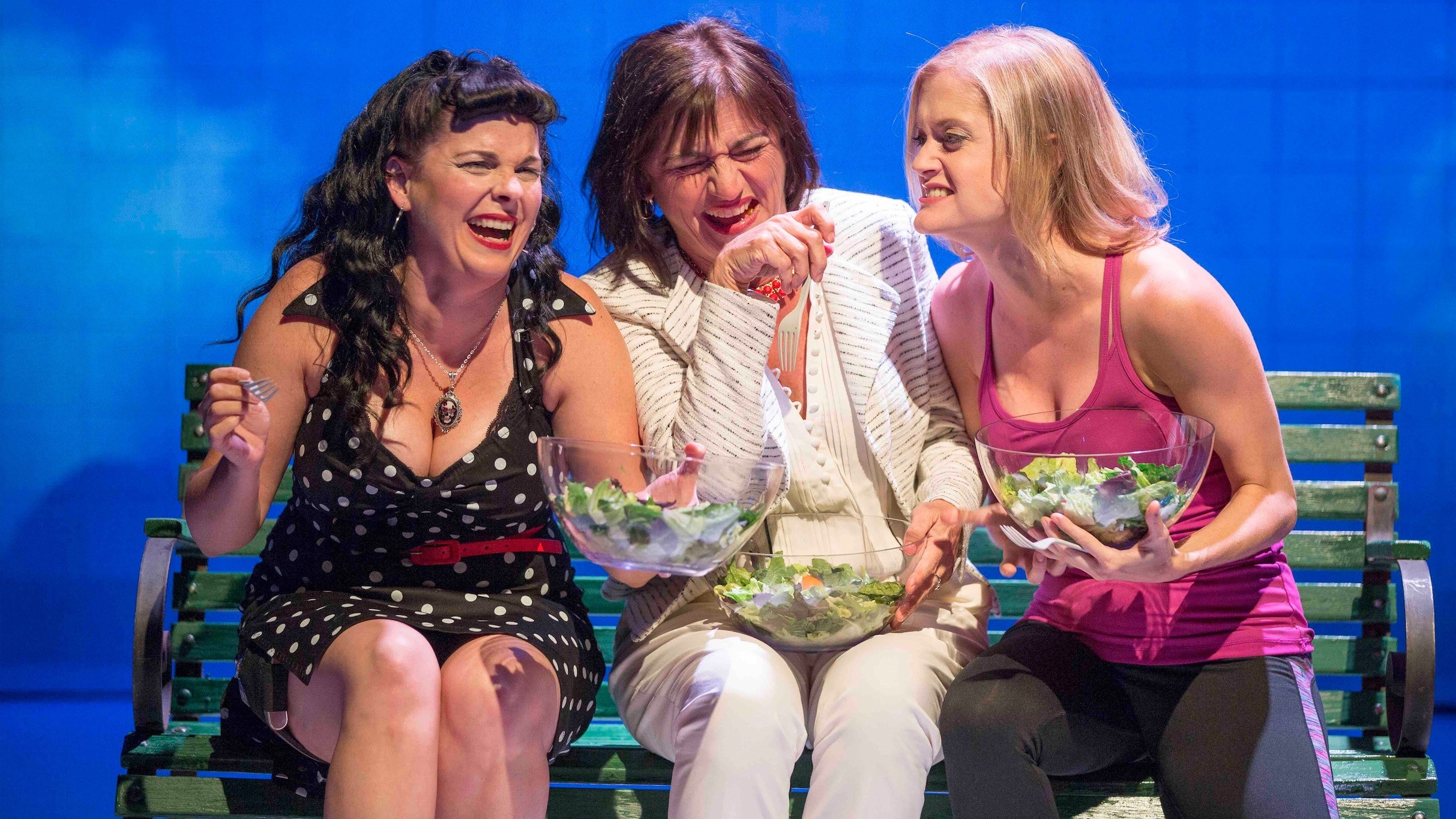 From Meme to Stage: Women Laughing Alone with Salad
