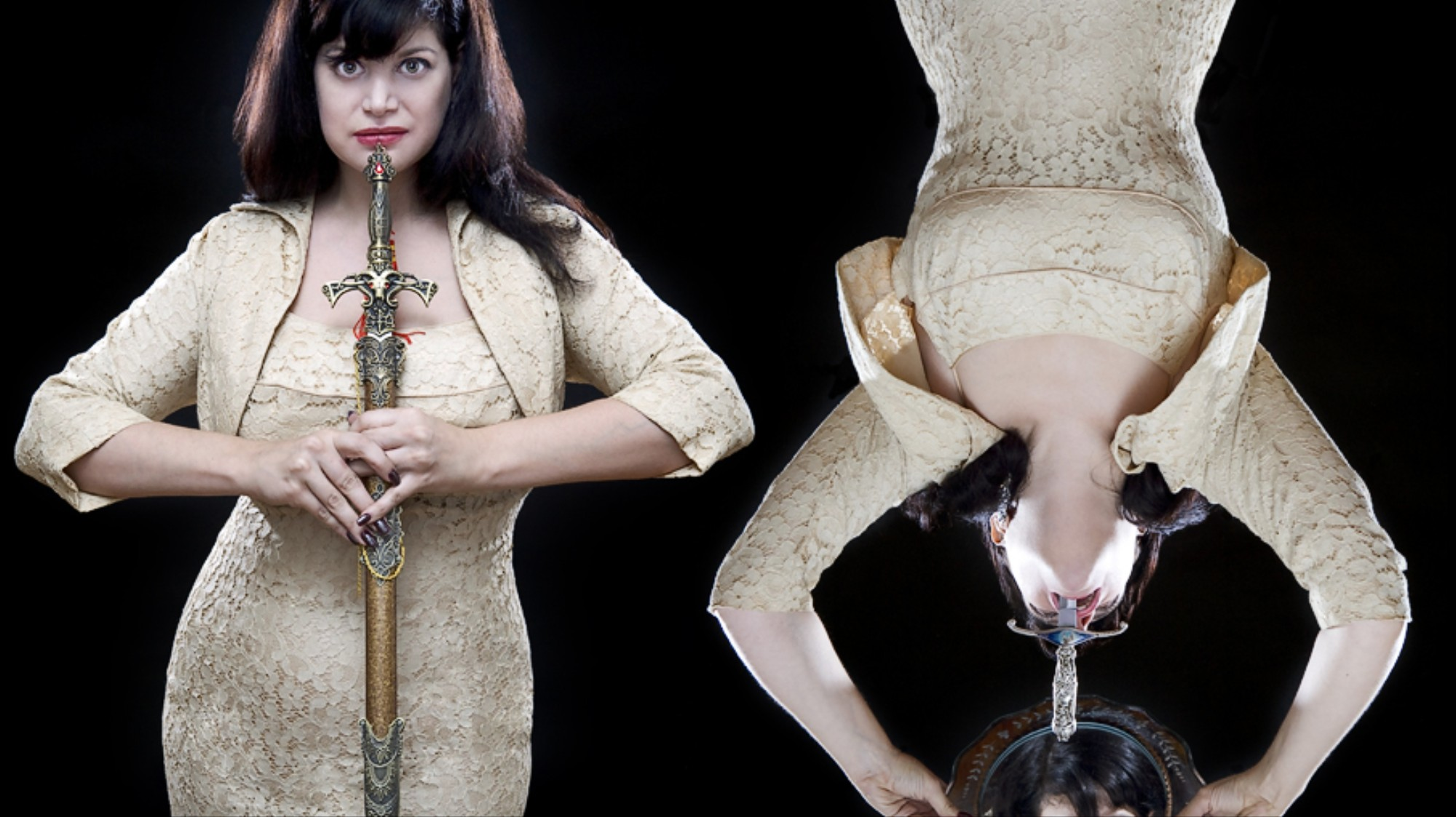 Meet One of the World's Only Female Sword Swallowers - VICE