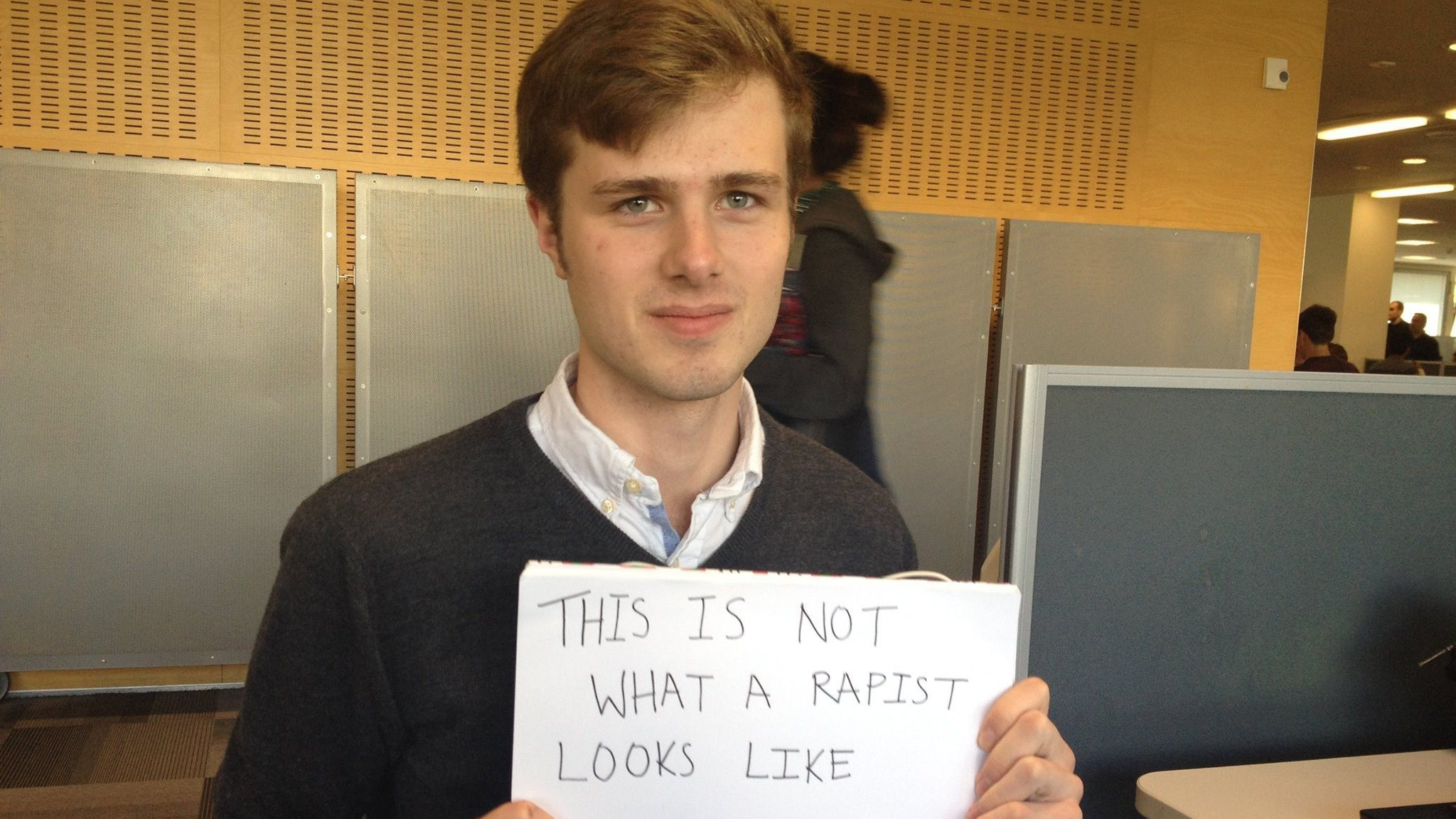 The 'This Is Not What a Rapist Looks Like' Guy Tries to Explain Himself