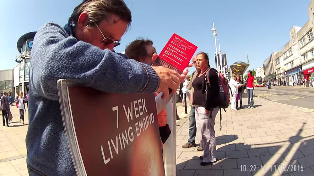 Study Shows How Distressing Anti-Abortion 'Vigils' Are For Women