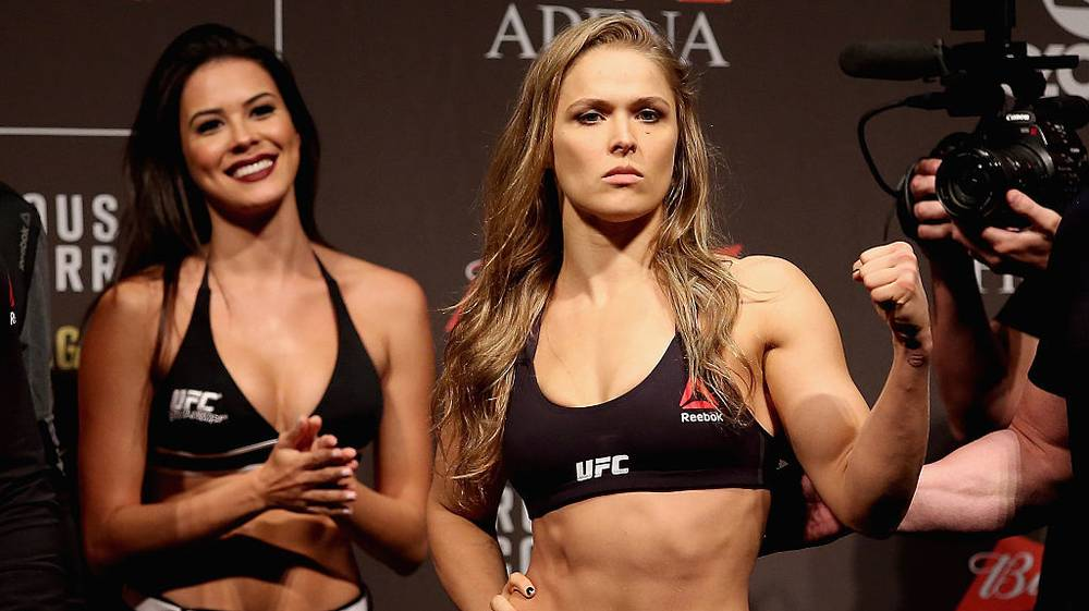 Ronda Rousey Bragged About Beating the Shit Out of a Guy