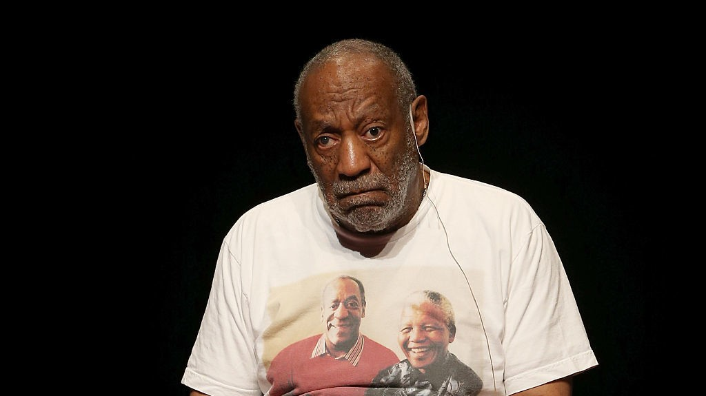 Activists Protest Garbage Rape Limitation Laws on Bill Cosby's Walk of Fame Star
