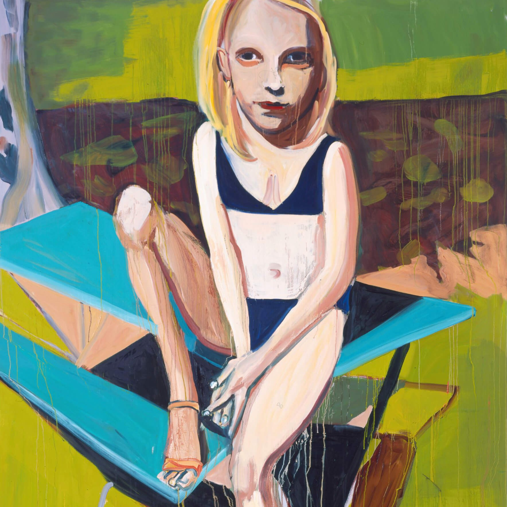 for artist chantal joffe mothers and models are equally