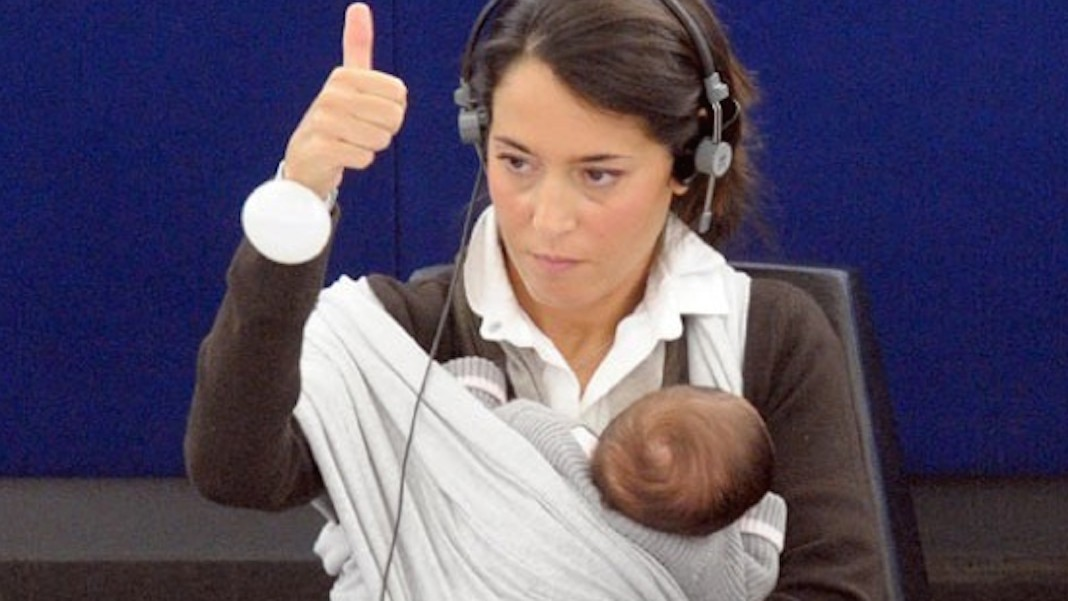 Vote Milk: The Battle for Female Politicians to Breastfeed at Work