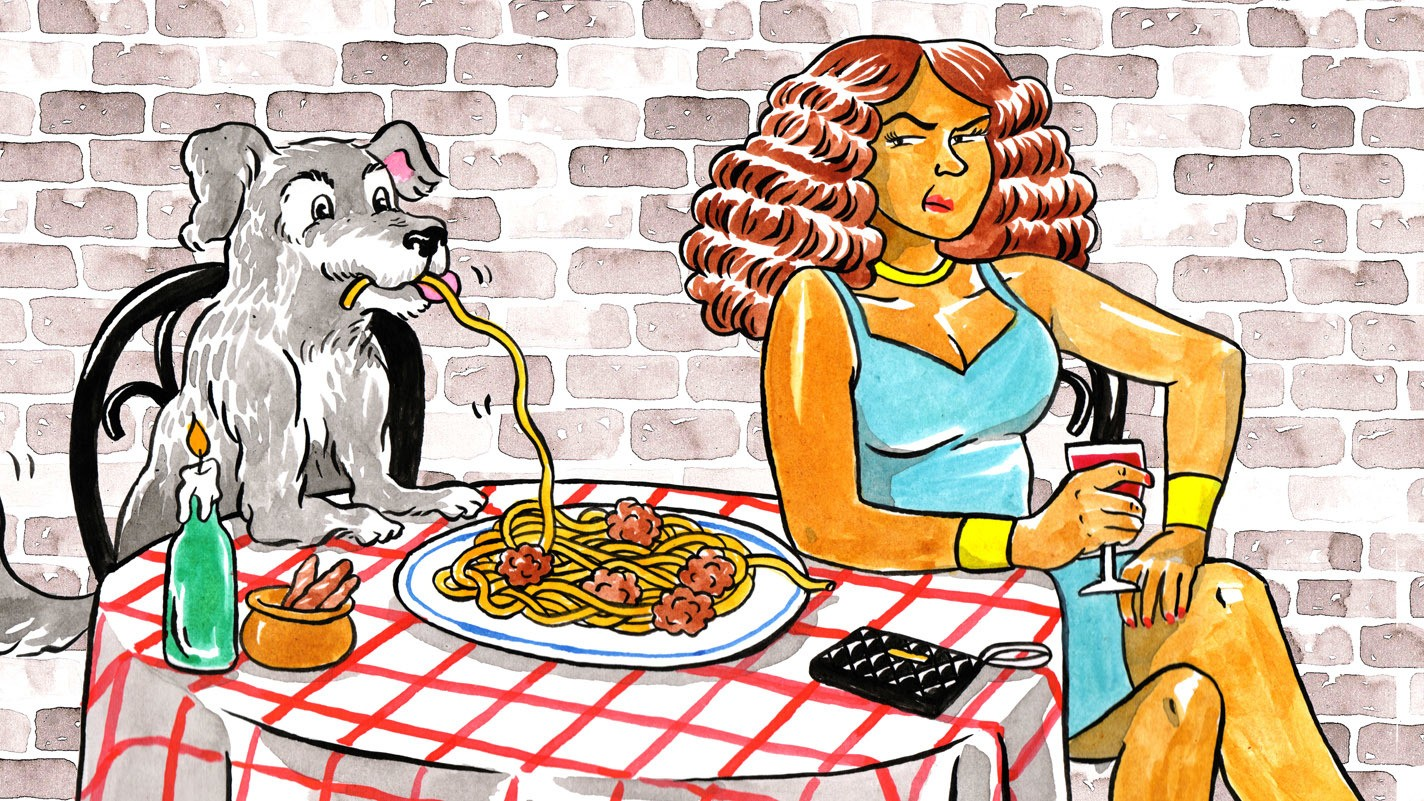 Woman Who is Dead Inside Goes on a Date with a Dog, Learns Nothing
