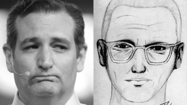 this guy is selling ted cruz was the zodiac killer shirts for