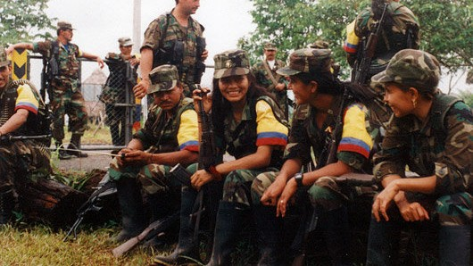 What It's Like to Be a Female Guerrilla Fighter in Colombia