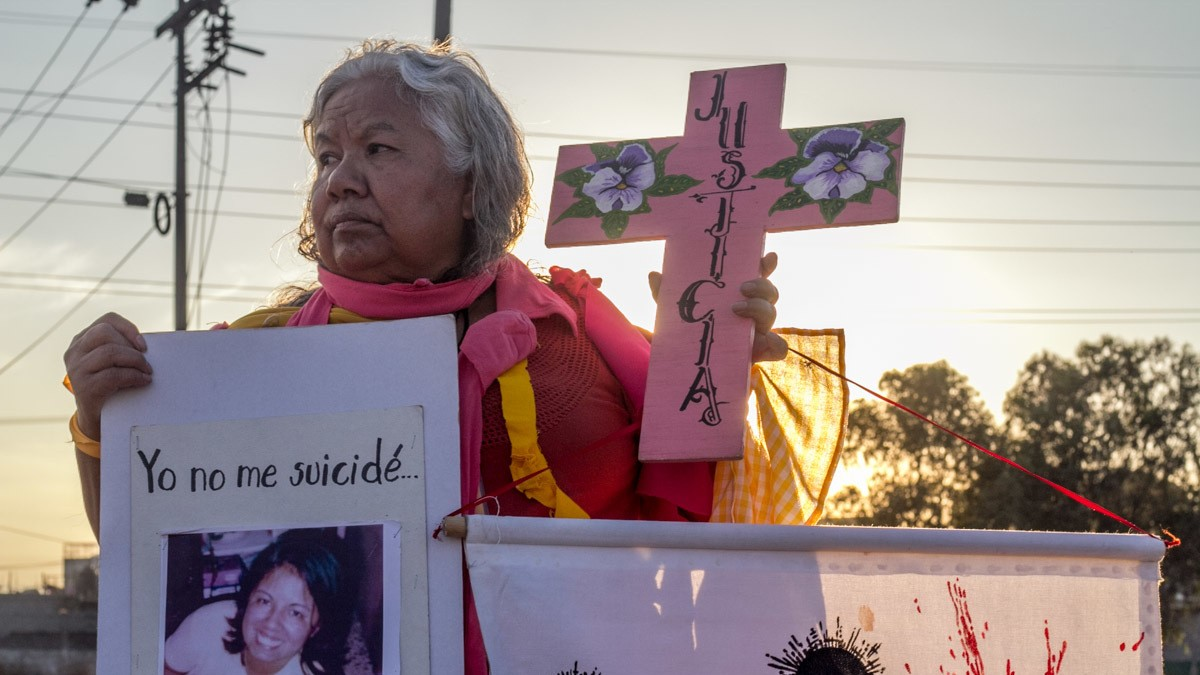 In Mexico, Women Are Protesting a Wave of Brutal Murders with Performance