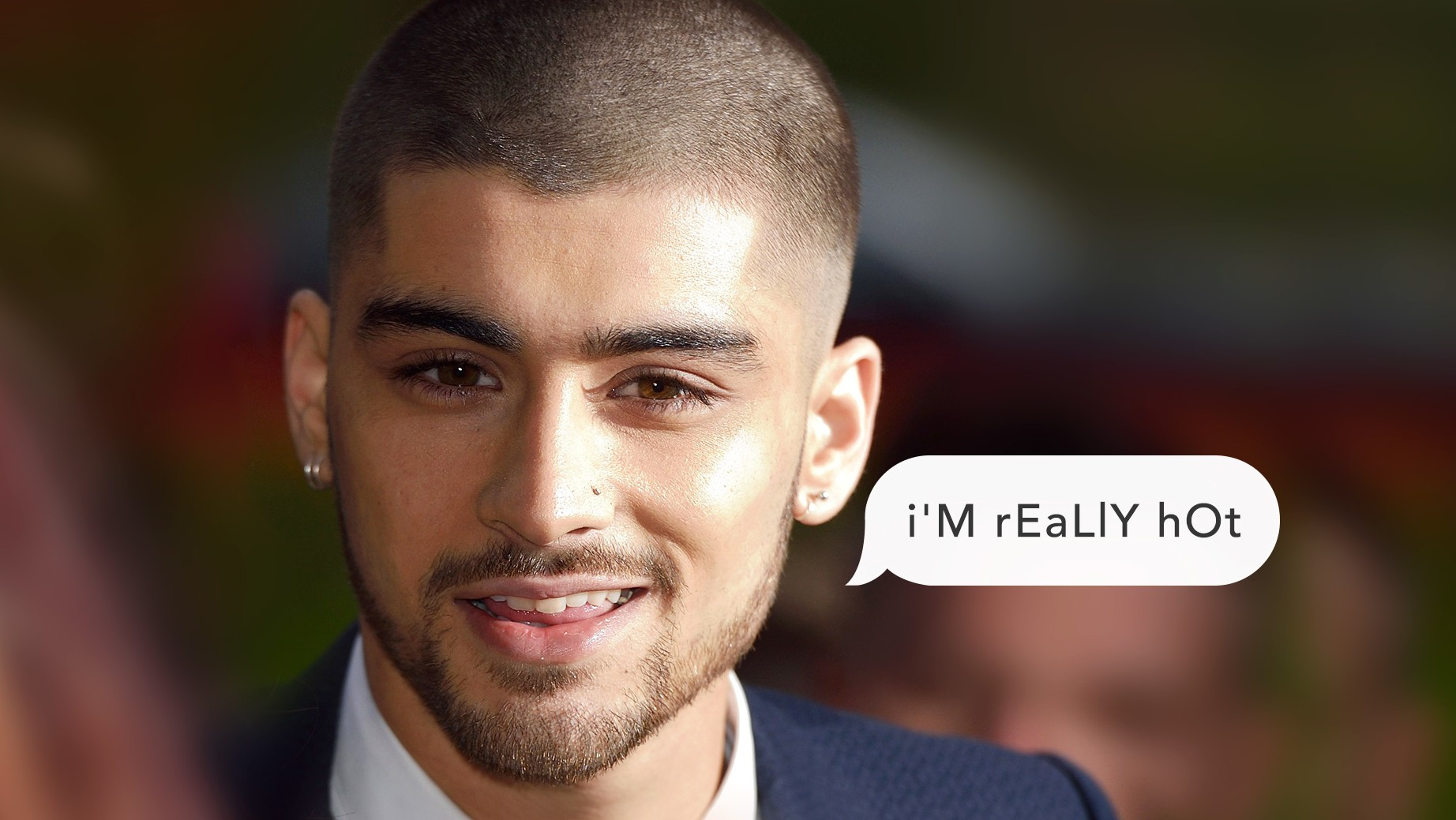 What Zayn Malik Is Really Saying with His Alternating Caps