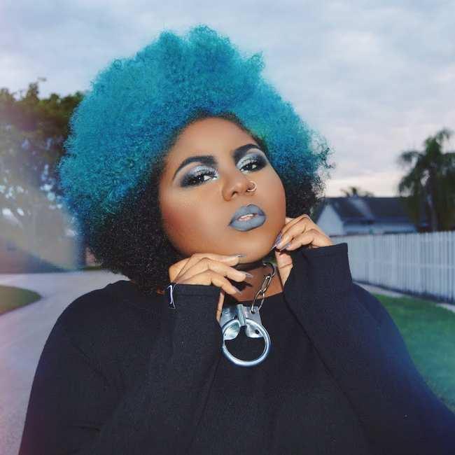 Wild black girl #7
