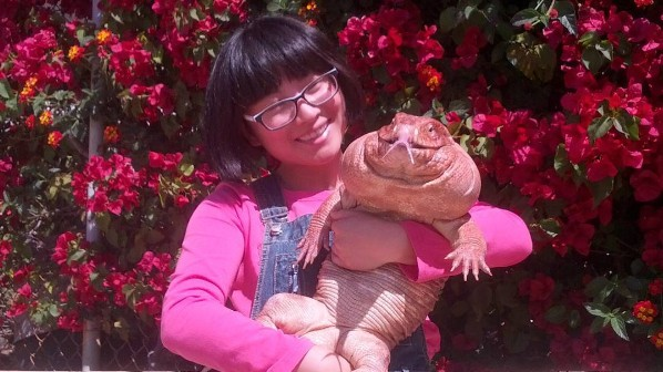 What It's Like to Live with a Famous Giant Lizard