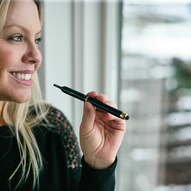 The Woman Changing The Face Of Weed Through Stock Images Broadly
