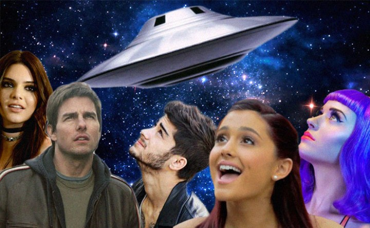 An Incomplete but Important List of Celebrities Who Believe in Aliens