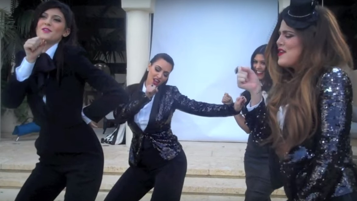 Behold the Kardashian-Jenner Family Elaborately Lip-Syncing to 'Lady Marmalade'