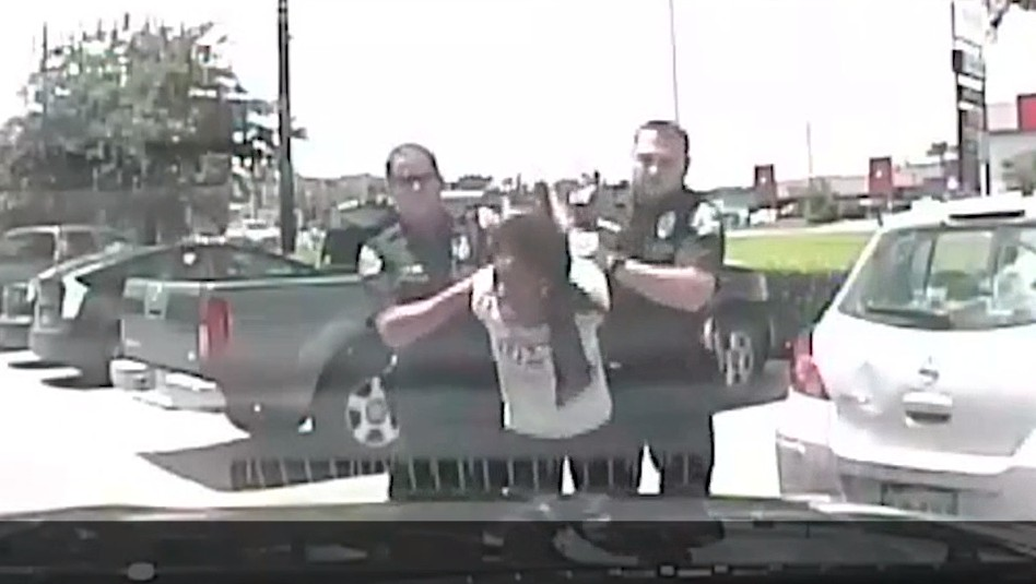 Video Surfaces Showing Racist Police Comments, Brutal Arrest of Black Woman