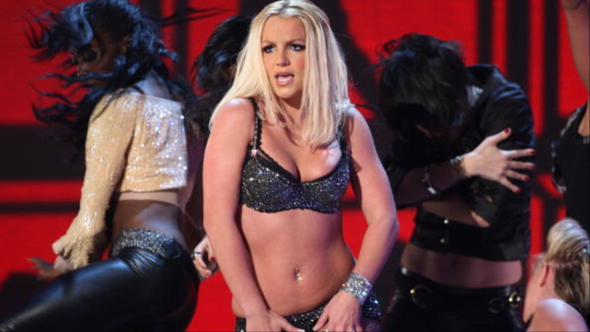 Britney Spears's Backup Dancer Shares What Happened at Her