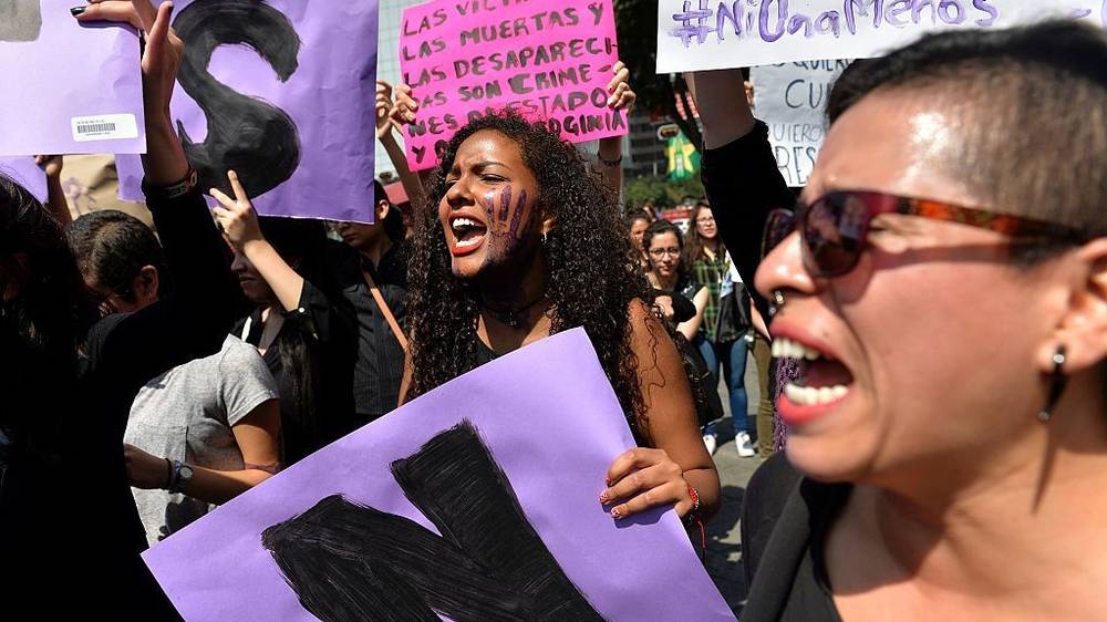 Women Strike in Argentina After the Brutal Rape and Murder of a 16-Year-Old Girl