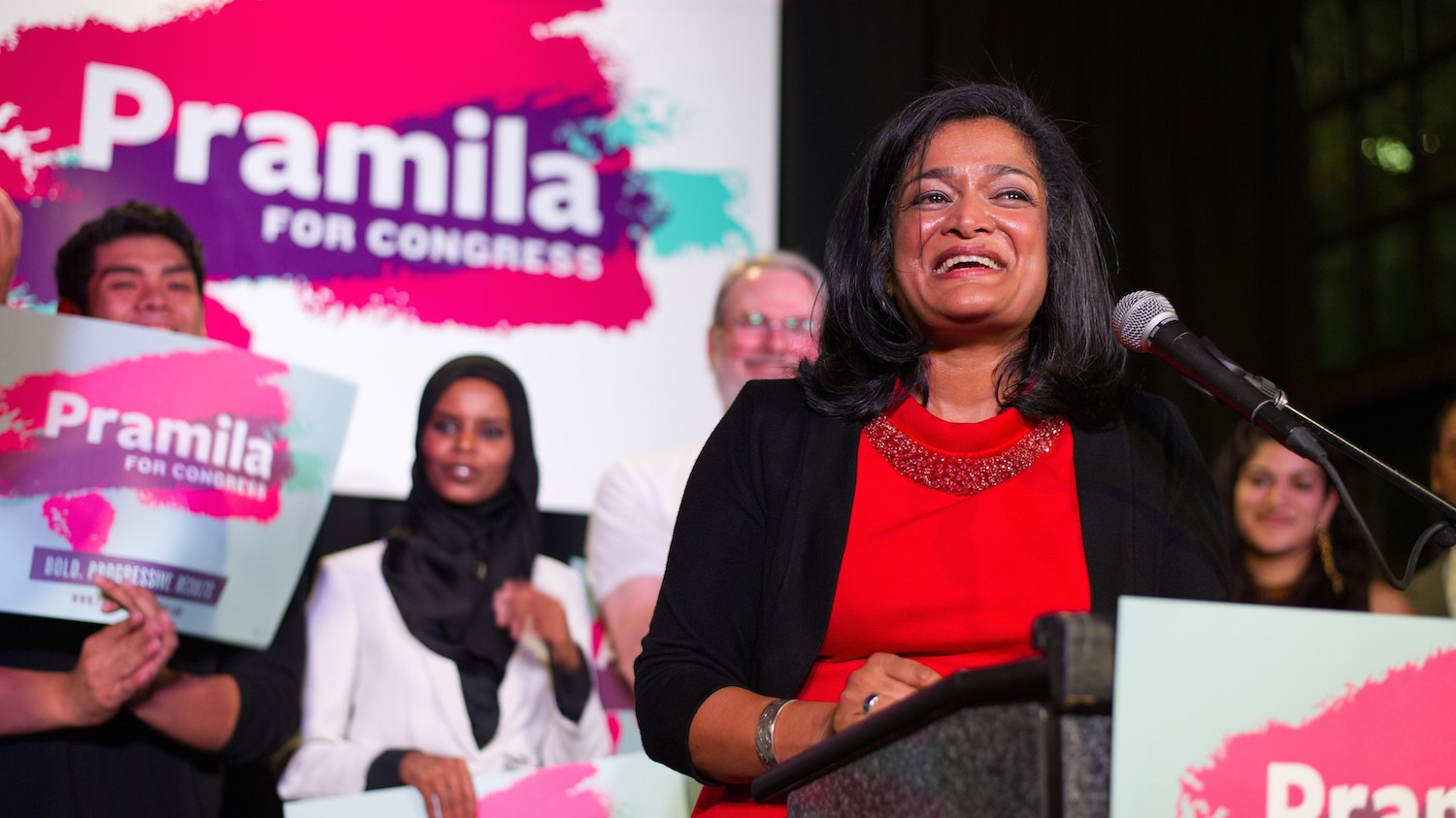 Congresswoman-Elect Pramila Jayapal: This Is No Time to Hide in the Shadows