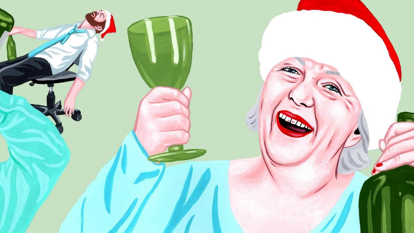 I Found Him Dangling from the Roof: The Most Insane Office Christmas Parties