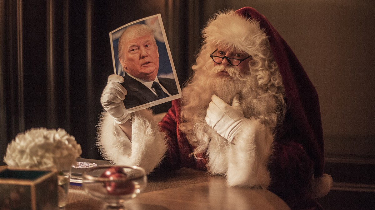 We Asked Santa Which Celebrities and Politicians Are on This Year's Naughty List