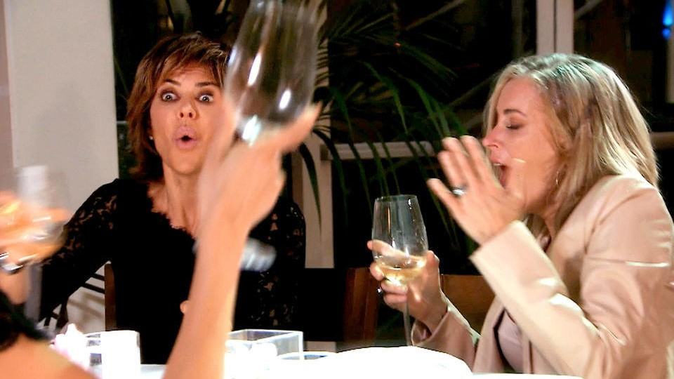 Why Reality Stars Are So Obsessed with Throwing Drinks on Each Other