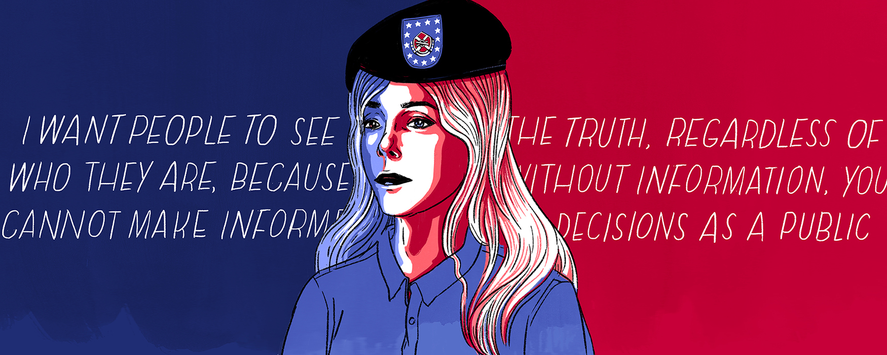 3a6321e8064  It s Hard to Show the World I Exist   Chelsea Manning s Final Plea to Be  Seen - Broadly