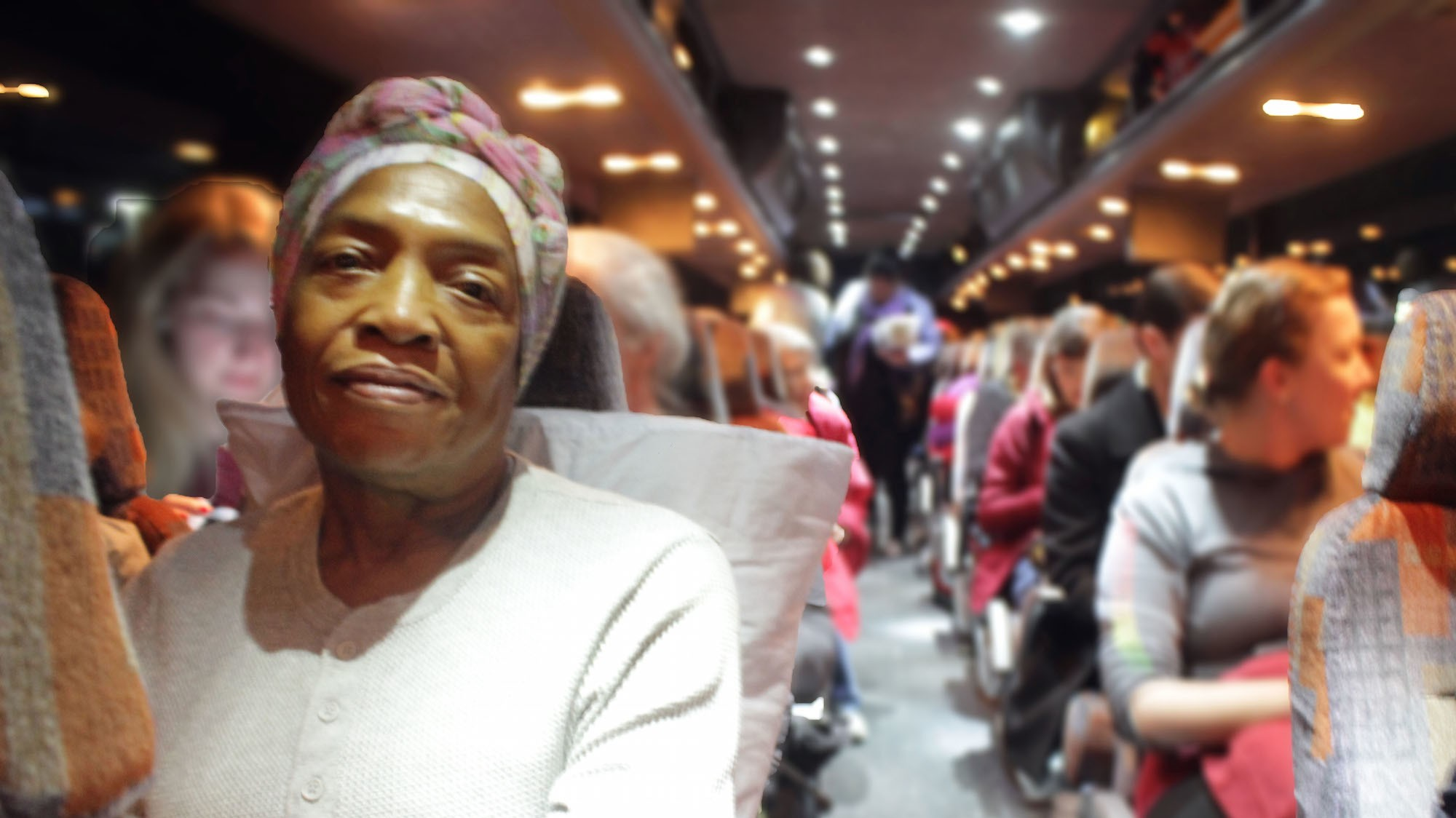 Inside a Bus Full of Women Headed to DC for the Women's March
