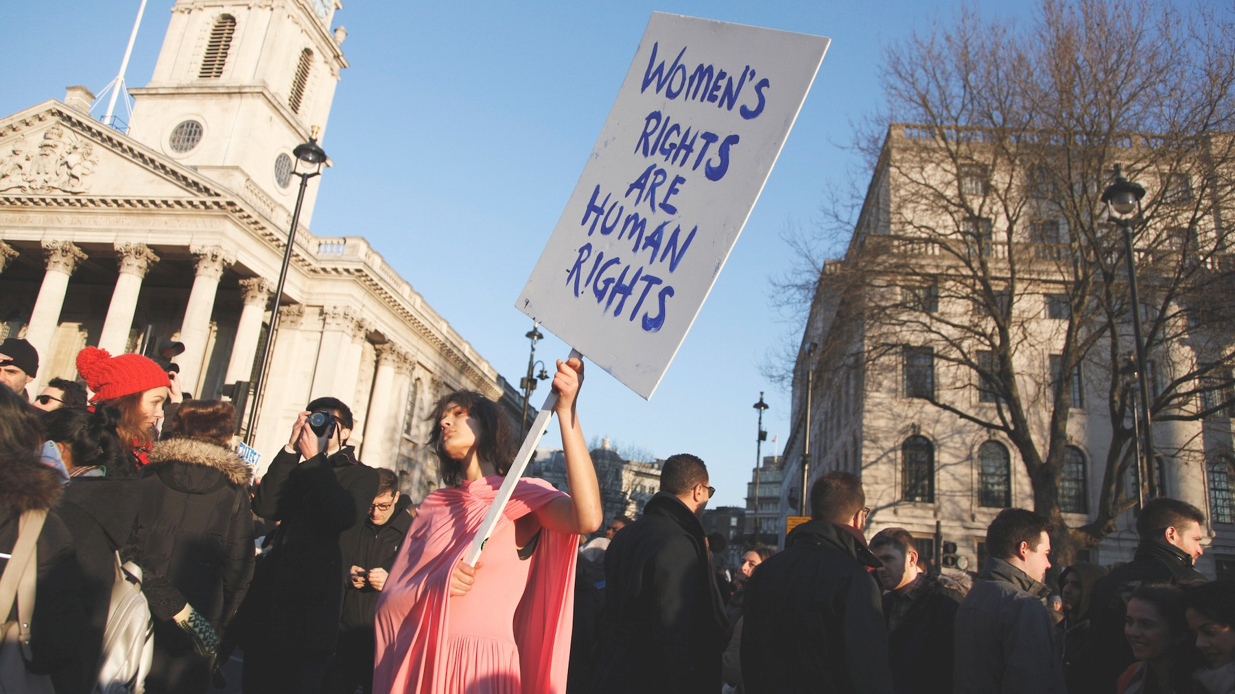 Marching As One: People Around the World on Why They Joined the Women's March