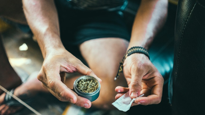 Does Smoking Weed Lead to Dating Violence?