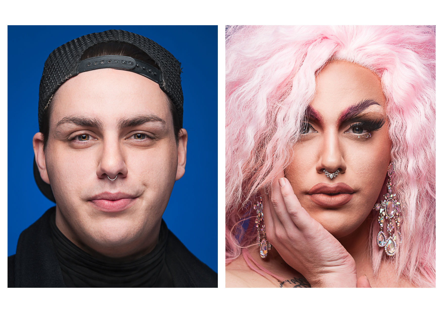 Mesmerizing Before and After Photos of Drag Transformations - VICE