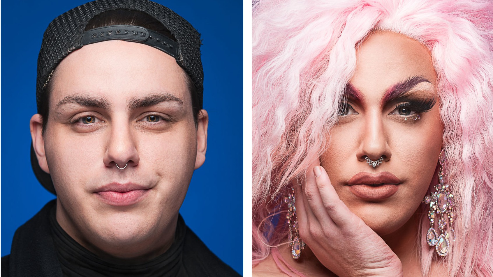 Mesmerizing Before and After Photos of Drag Transformations