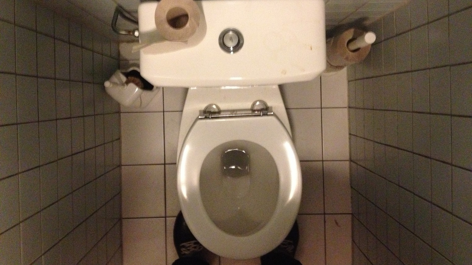 It's Totally OK to Sit on Public Toilet Seats
