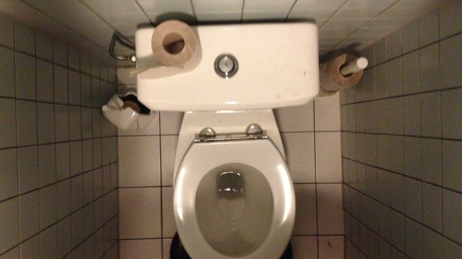 toilet seat. Photo by dirtyboxface via Flickr It s Totally OK to Sit on Public Toilet Seats  Broadly