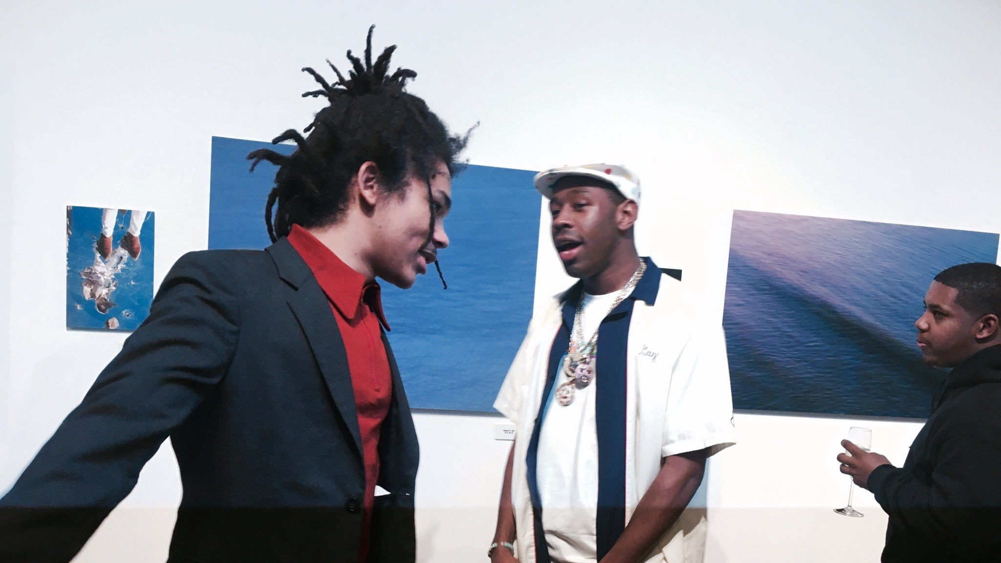 Exploring Unity and Identity in Luka Sabbat's 'Hot Mess' Art Show
