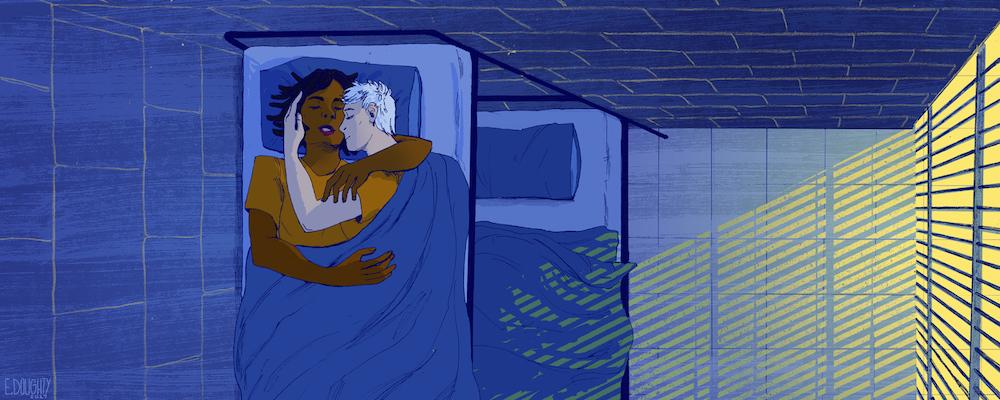 Lesbian prison strip search