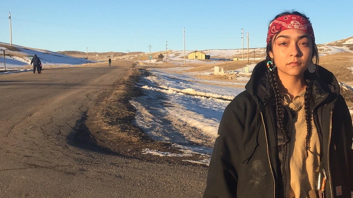 'I Was Born to Be Here': One of the Last Standing Rock Protesters Speaks Out