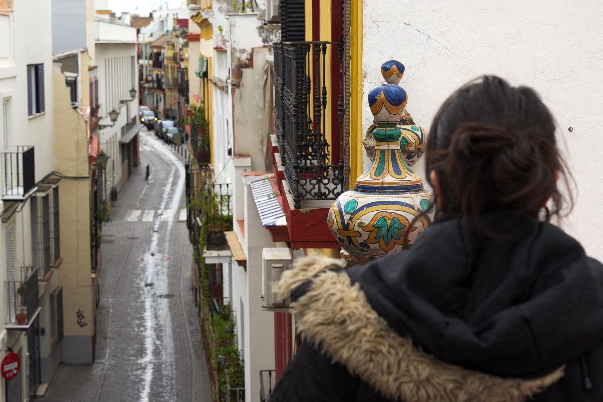 Reife Paare, die Sexin in Andalusien haben