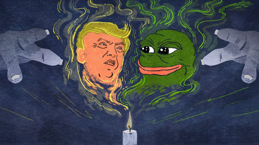 Anti-Trump Witches and 4Chan Magicians Are Battling Over the Future of America