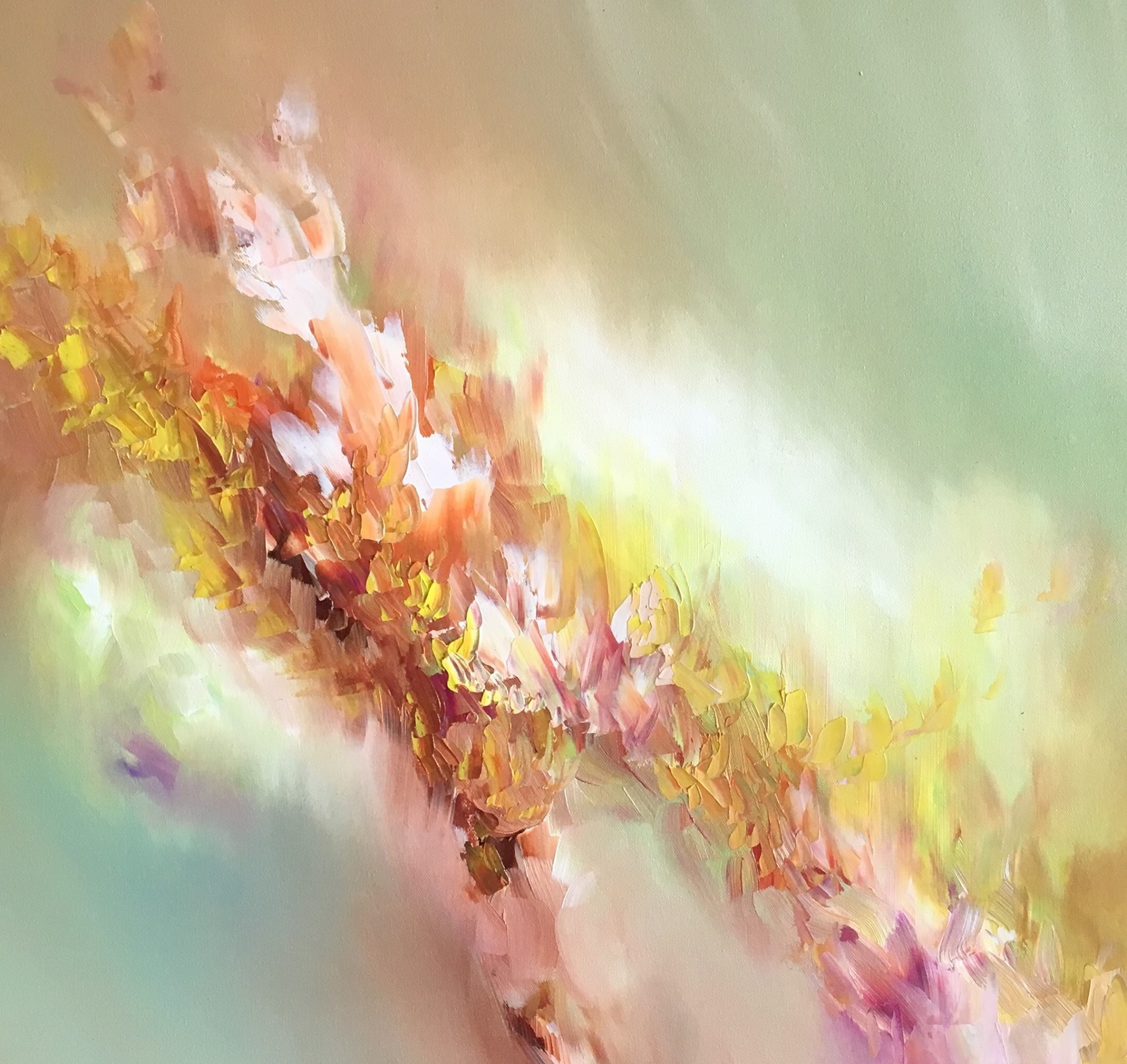 This artist with synesthesia sees colors in music and paints your favorite songs broadly