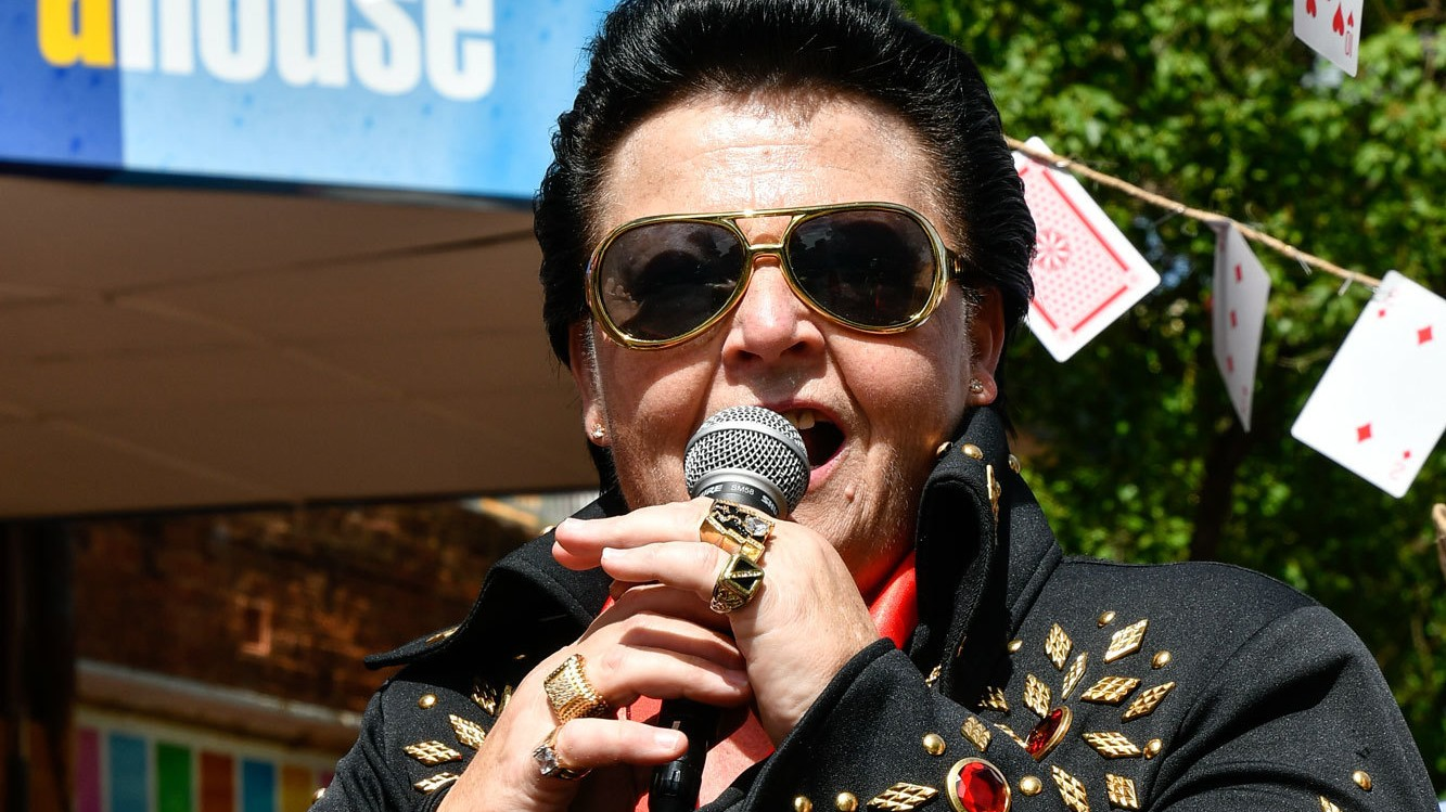 Meet 'ShElvis,' Australia's Only Female Elvis