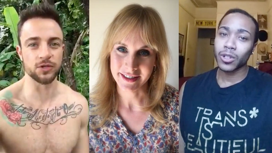 Trans Celebrities Share Their Personal Stories of Using Public Bathrooms